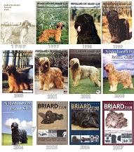 Nederlandse Briardclub covers 1989-2007