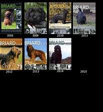 Nederlandse Briardclub covers 2008
