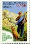Stamp of Andorra
